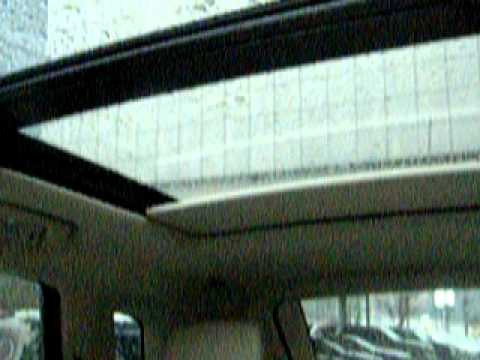 How To Use The Sunroof And Shade In A 2011 Cadillac Srx At