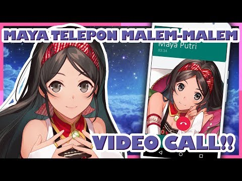 Telepon Malem-Malem sama Maya!🐥🥰【Vtuber Indonesia】