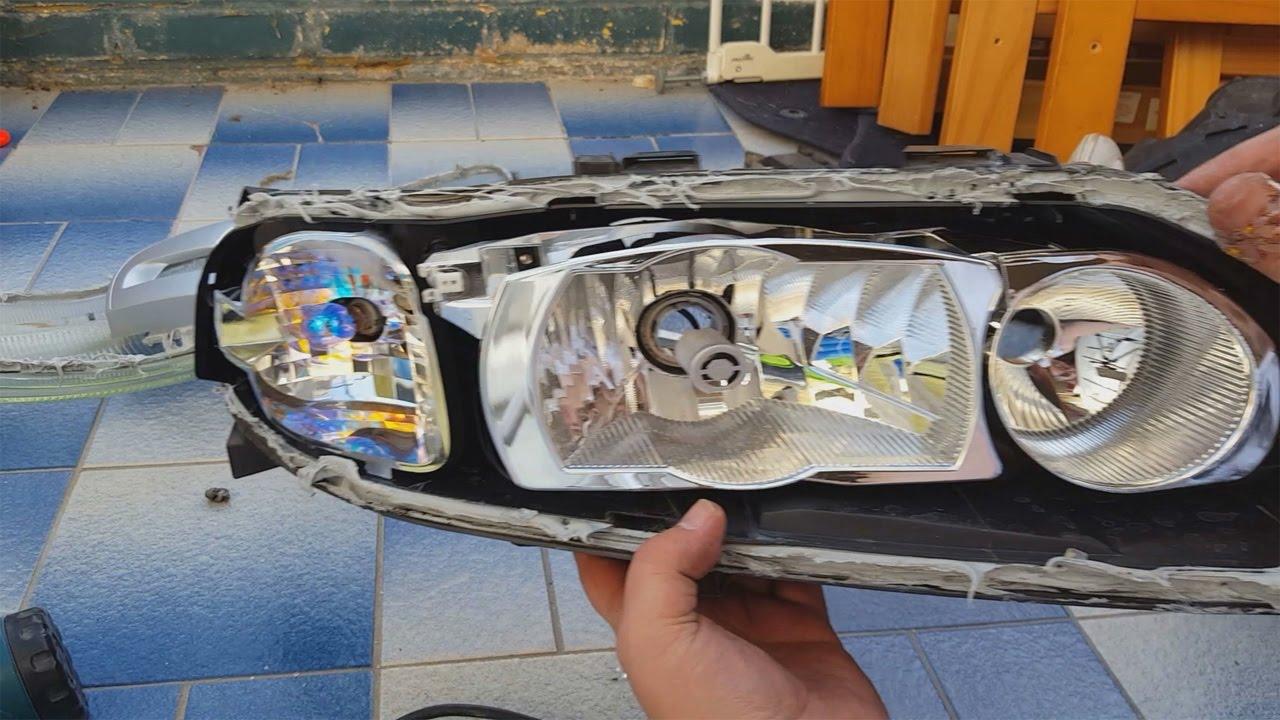 Volvo xc70 headlight lens replacement