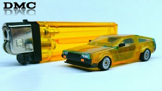 How to make a DeLorean from a gas lighter