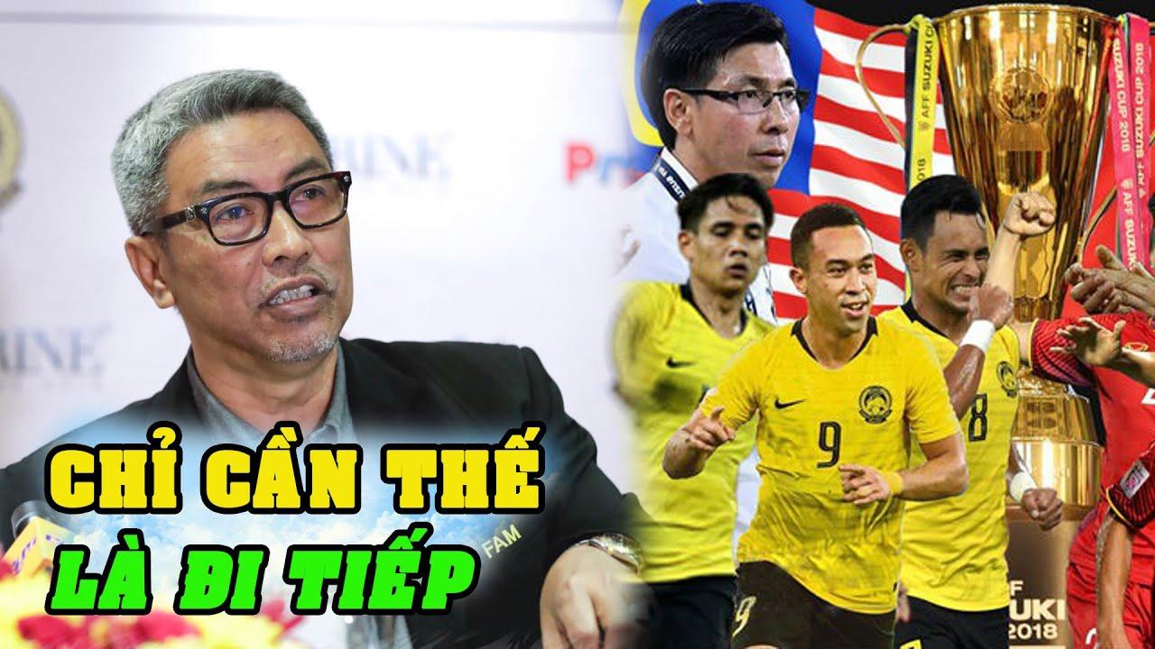"""Tin bóng đá VN 17/12 l Sếp Malaysia tuyên bố :""""Chúng tôi cần 4 điểm từ Việt Nam và UAE để đi tiếp"""""""