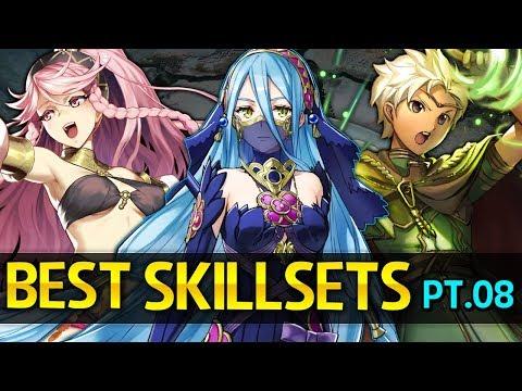 Fire Emblem Heroes - BEST Skillsets Guide: Part 8 - Azura,Olivia,Shigure,Inigo,Celica,Mae & more!