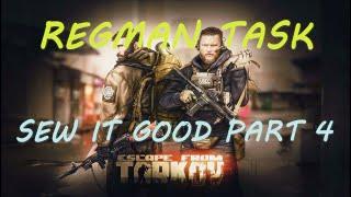Regman Task - Sew it Good Part 4 | #EscapefromTarkov | Patch 0.12 | Deutsch