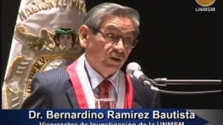 Ceremonia de Clausura del Año Académico   2013  UNMSM
