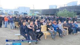 День металлурга отметили горняки «Полиметалла» в Северо Эвенском округе