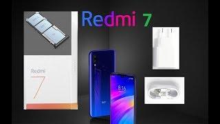 Xiaomi Redmi 7 Приклади фото Розпакування міні Огляд