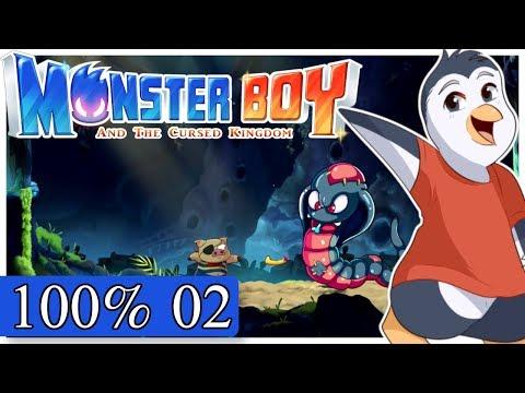 Monster Boy and the Cursed Kingdom - Misty Forest / Big Venom - Sweatin' like a hog (100%)