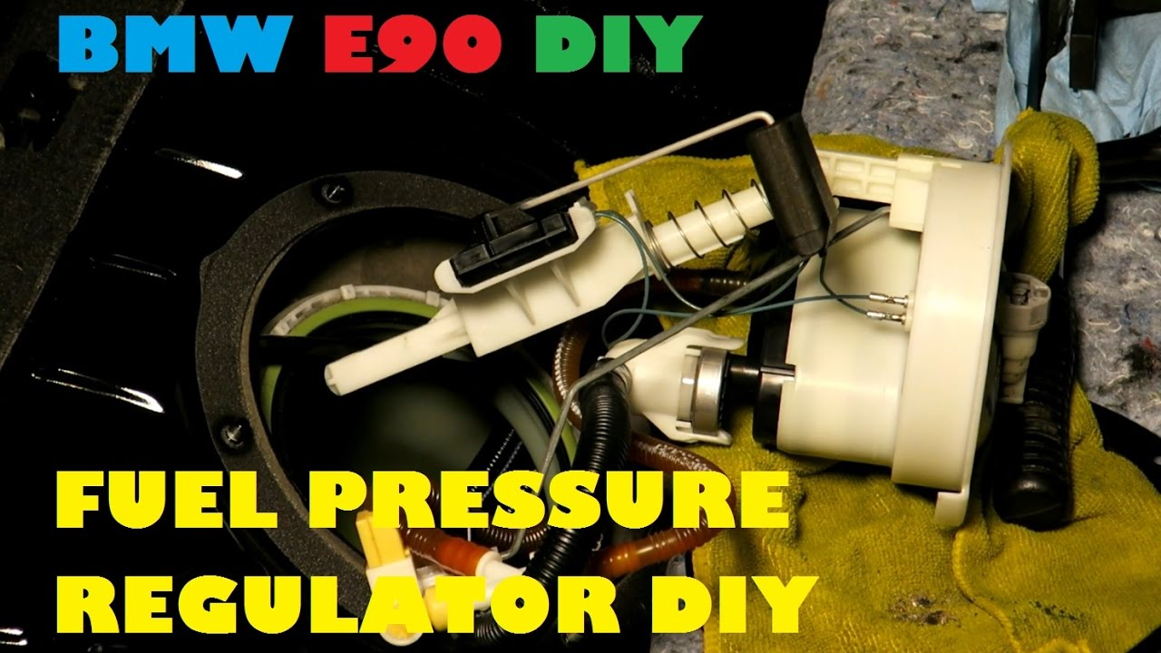 Long Crank On Your BMW E90 335i? Fuel Pressure Regulator Replacement DIY