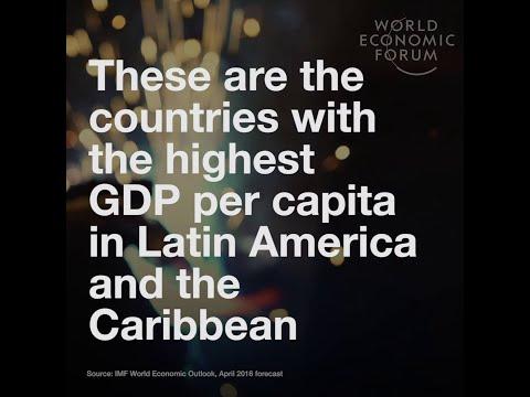 Latin America's - Highest GDP per capita