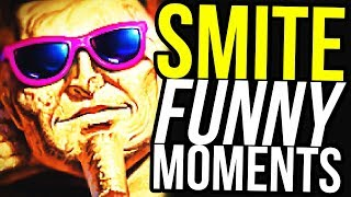 The REAL God of War - Smite Funny Moments