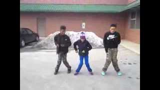 Repeat youtube video JB, DRE , CHRIS (M.O.F SHUFFLE)  | MBE - HAVE A PARTY |