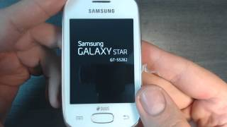 Samsung Galaxy Star Duos S5282 - How to remove pattern lock by hard reset