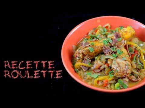 Recette : sauté de poulet façon basquaise au wok