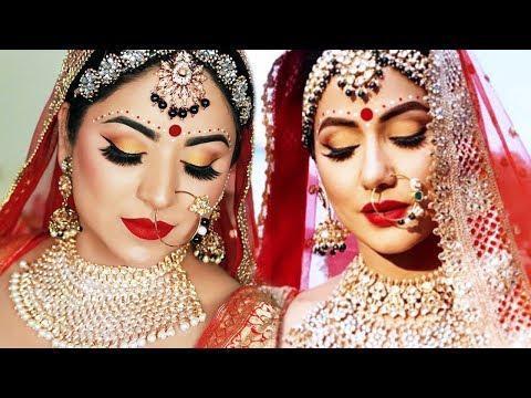 Komolika (HINA KHAN) Bridal Look | Indian Bridal Makeup Tutorial (Hindi) thumbnail