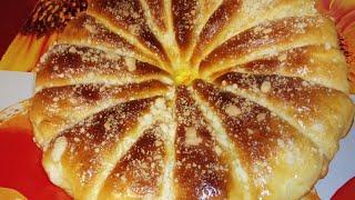 Вкуснейший  Яблочный  Пирог. Дрожжевое тесто.