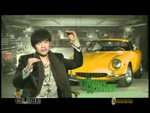The Green Hornet Interview - Jay Chou
