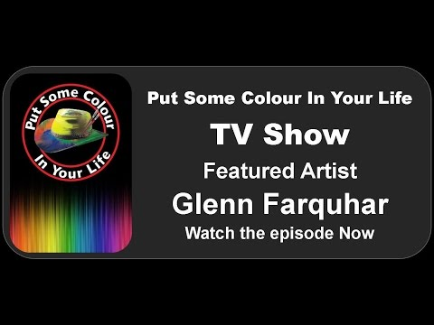 2 Free Abstract Art Lesson Demonstrations TV Show Colour in Your Life