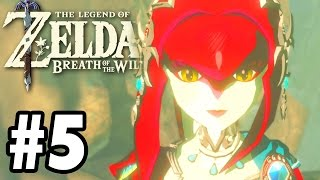 LINK HAS A GIRLFRIEND! - The Legend Of Zelda: Breath Of The Wild - Gameplay Part 5 (Switch)