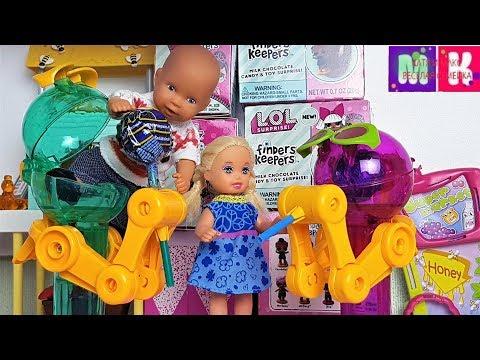 КАТЯ И МАКС ВЕСЕЛАЯ СЕМЕЙКА. ЧУПА ЧУПС ИЛИ ПРОДУКТЫ? #Мультики с куклами #Барби