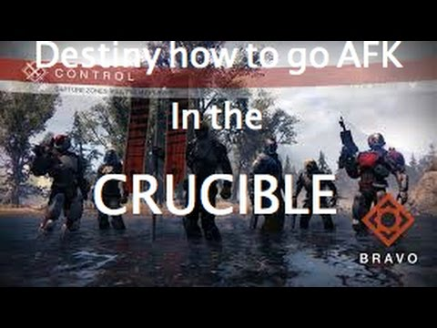 Destiny How to go AFK in the Crucible easy marks & gear