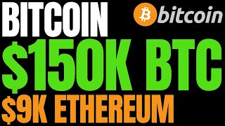 Analyst Predicts Next Bitcoin Bull Run Will Send BTC to $150,000 and Ethereum (ETH) to $9K