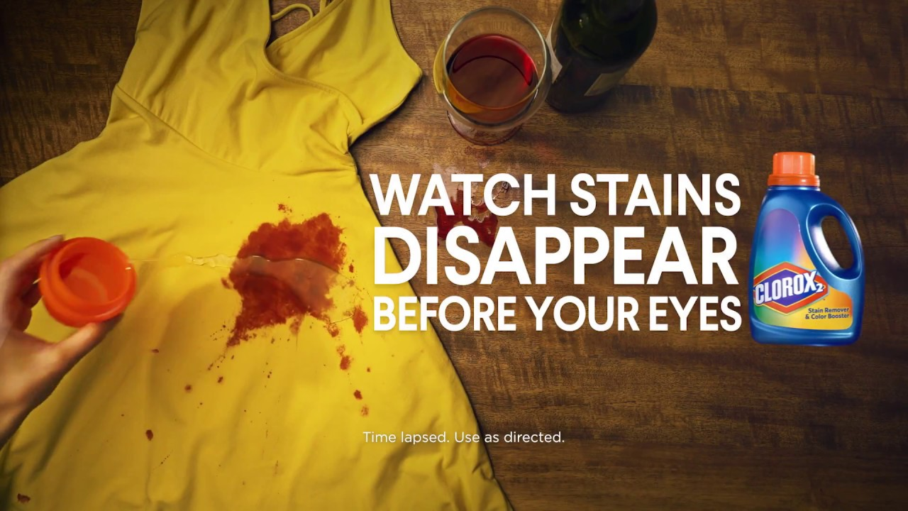 Right Before Your Eyes 'Wine' | Clorox 2® Stain Remover ...