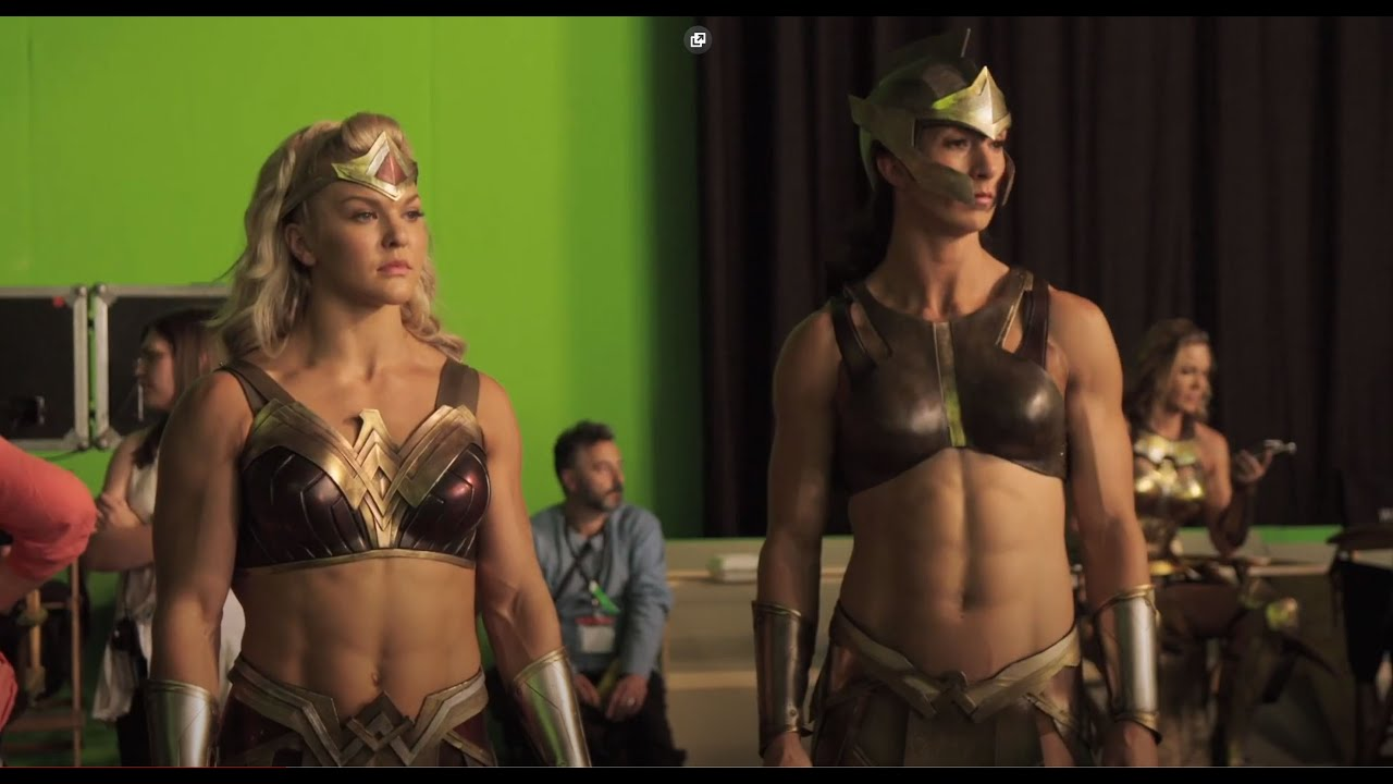 Justice League 2017 Behind the Scenes Amazon Warrior Women