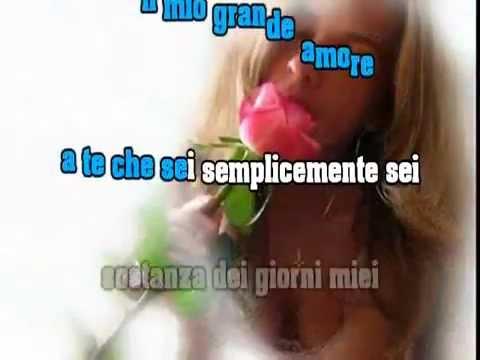 Jovanotti - A te - Karaoke