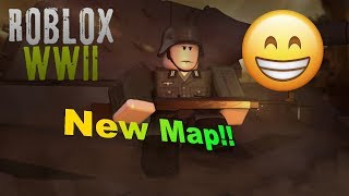 Roblox WW2 NEW MAP!! (sorry for the lag)