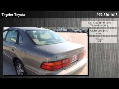 1998 Toyota Avalon Sedan Xls W Bucket Seats Burton Youtube
