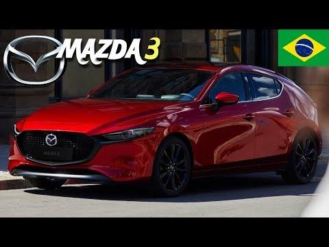 Novo Mazda 3 2019 hatch: no Brasil em Detalhes | Top Carros 🇧🇷
