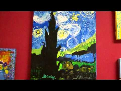 EC Artists' tribute to Van Gogh, June 2012.
