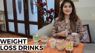5 Instant Weight Loss Drinks | Diet | Lose Weight | Fitness Routine | Sahiba | Lifestyle With Sahiba