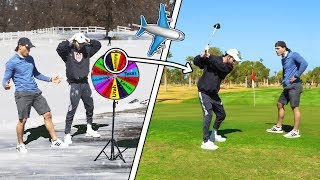 Giant Wheel Decides What State We Play Golf In