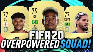 CHEAP OVERPOWERED STARTER SQUAD! #FIFA20 ULTIMATE TEAM