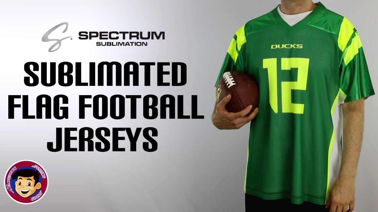 fff5d91e2 Spectrum Sublimated Flag Football Jerseys - YouTube
