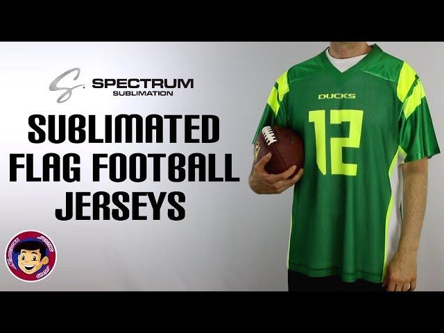 aeaf9b3bb Spectrum Sublimated Flag Football Jerseys