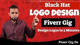 Fiverr Pakistan - Blackhat Logo Design Trick (5 Min Logo Design Method) Gig Training