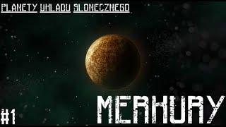PLANETY Układu Słonecznego #1 - Merkury