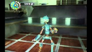 Robots Movie Game Walkthrough Part 1 (GameCube)