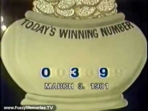 WGN Channel 9 - The Daily Game Lottery Drawing (1981)