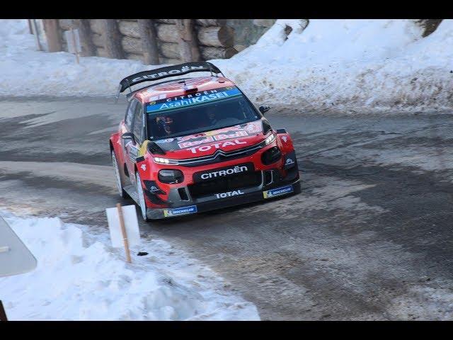 Rallye Monte Carlo 2019 SS13 Col de Turini