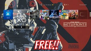 Star Wars Battlefront II and Iden Versio Playstation 4 Themes Available Now for FREE
