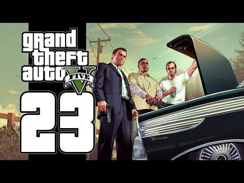 Let's Play GTA V (GTA 5) - EP23 - The Three Amigos