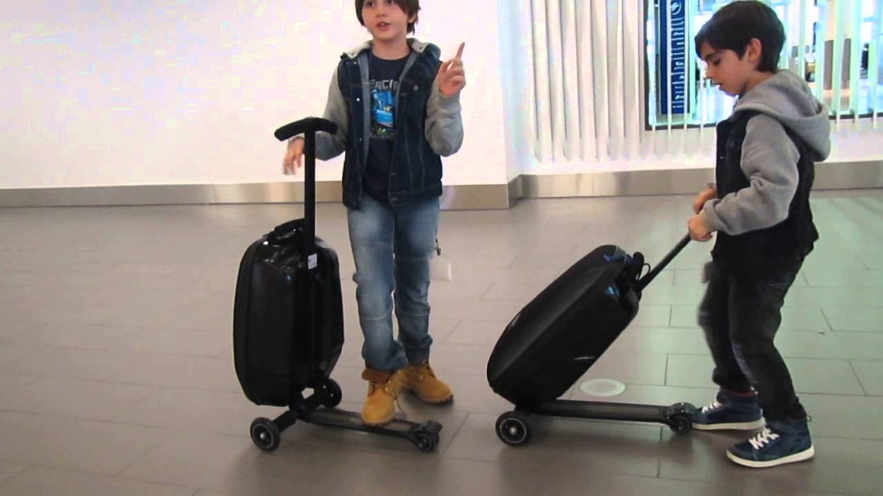 Scooter Luggage Canada - YouTube