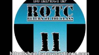 DJ Impact - Addiction CLANS011  happy hardcore records vinyl