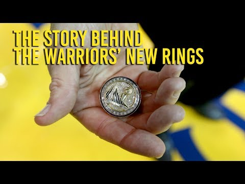 Golden State Warriors receive championship rings on NBA opening night