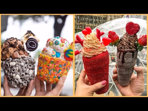 So Yummy Desserts & Ice Cream | Yummy And Satisfying Dessert | Delicious Chocolate Cakes