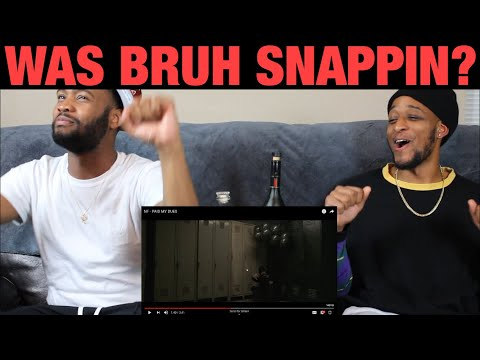 NF - PAID MY DUES | GHETTO REACTION | Official Music Video | FIRST LISTEN