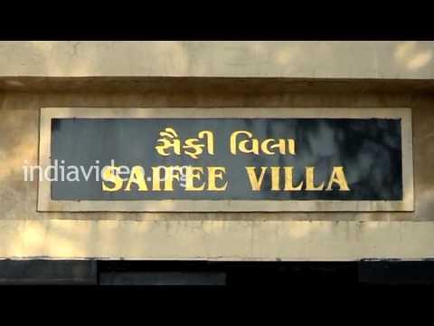 Saifee Villa Museum in Dandi, Gujarat